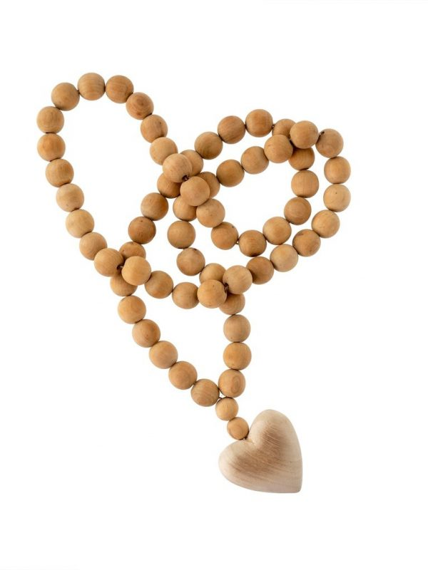 Heart Prayer Beads.