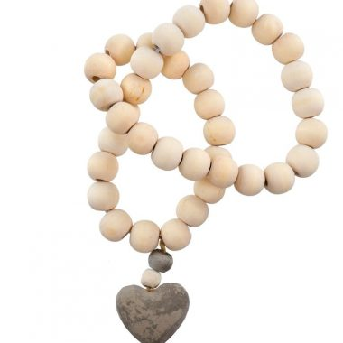 Heart Prayer Beads. Small.