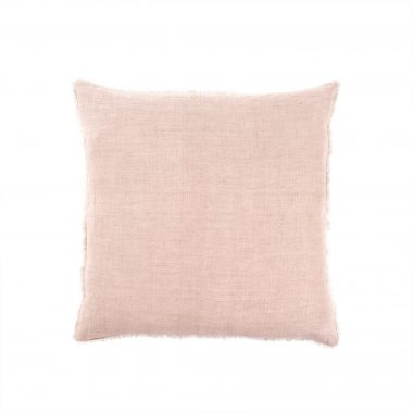 Linen pillow dusty rose